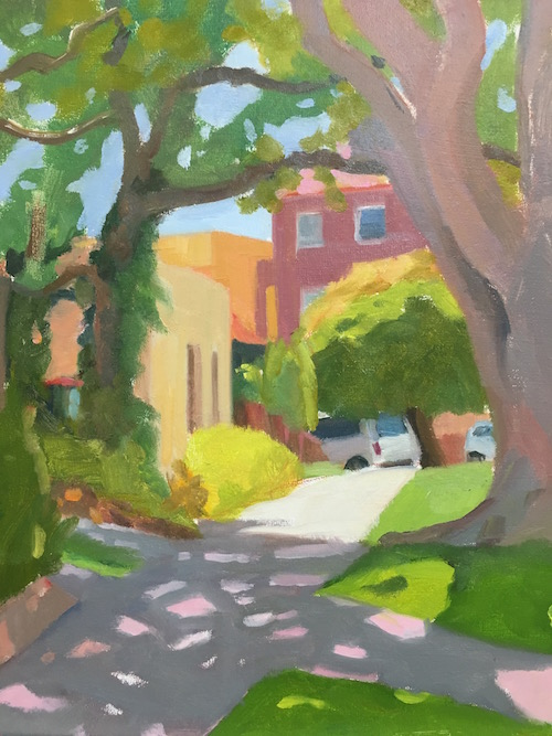Bondi Street 30x20cm oil:board 2016 copy