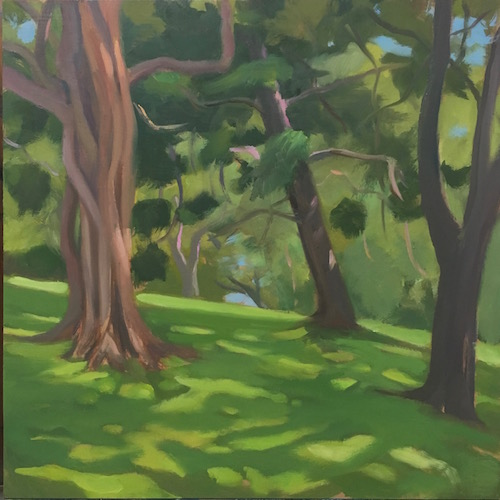 Park Life #2 30x30cm oil:mdf 2016 copy